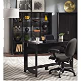 Aero Writing Desk with 16 Cube Bookcase/Room Divider