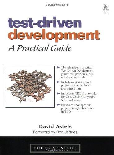 Test-Driven Development: A Practical Guide: A Practical Guide