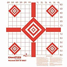 Champion Traps & Targets Redfield Style Precision Sight-In Target (Pack of 100)