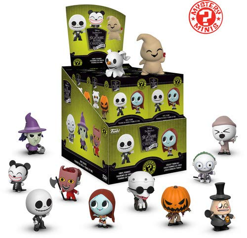 Funko Mystery Mini: Nightmare Before Christmas 25th Anniversary Collectible Figure, Multicolor