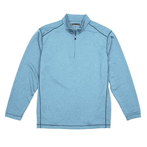 Pebble Beach Men's Performance Tech Golf Pullover 1/4 Zip Long