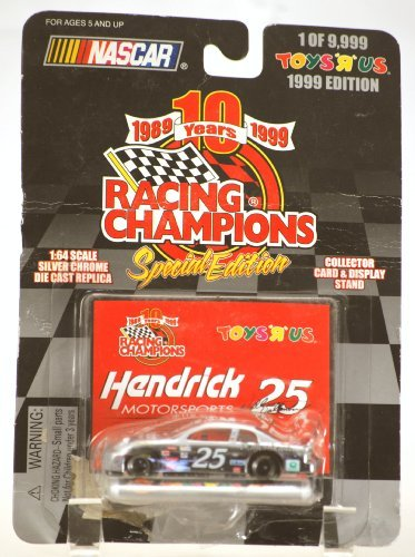 1999 - Wally Dallenbach #25 - Hendrick Motorports - Monte Carlo - Racing Champions - NASCAR - 1:64 Scale Die Cast Stock Car - Collectible