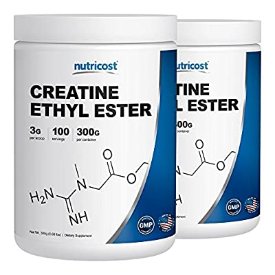 Creatine Ethyl Ester (CEE) - Pure Creatine Ethyl Ester - Rapid Absorption Creatine - 3000mg Per Serving