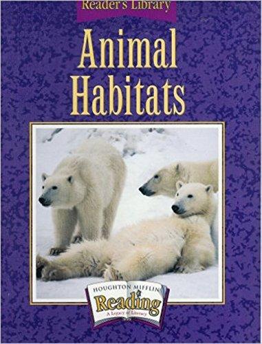 Houghton Mifflin Reading: The Nation's Choice: Reader's Library Grade 3.2 Theme 4 - Animal Rescue pdf epub