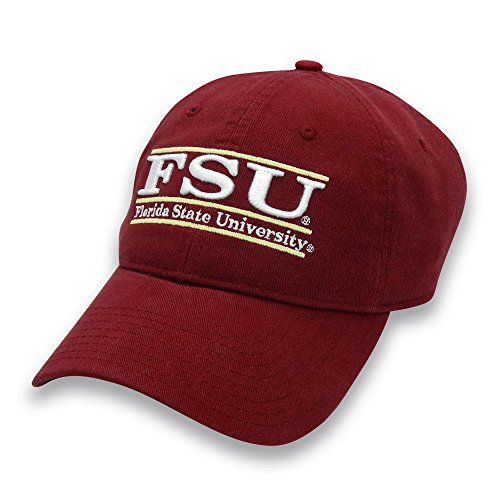 - The Game NCAA Florida State Seminoles Adult Unisex Classic Adjustable Hat, Cardinal