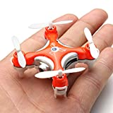 Cewaal CX-10C Mini RC Quadcopter Drone with Camera,LED Light for Night 3 Speed Mode Flying Toys For Boys And Girls