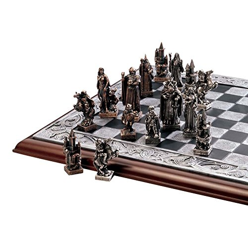 Design Toscano Mystical Legends Chess Set by Design Toscano