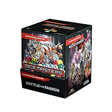 Dice Masters Dungeons & Dragons Battle for Faerun - Gravity Feed Booster Box