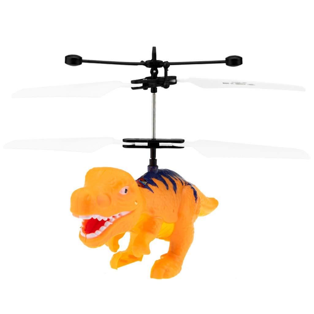 Dinosaurs Orange