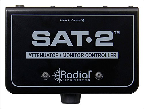 Radial Engineering SAT-2 - Stereo Audio Attenuator & Monitor Controller by Radial Engineering