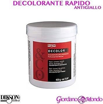 Polvo decolorante para pelo rápido 500 gr dikson para tinte ...
