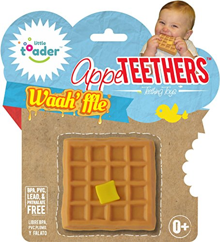 Little Toader Teething Waahffle Appe Teethers product image