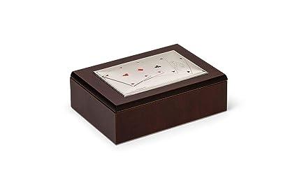 Sweet Home Caja para Cartas Juego con Tapa Plateada cod ...