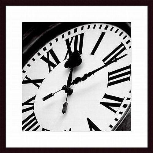 of Time II by Tony Koukos Wood Framed Art Print (Tony Koukos Pieces)