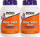 Now Foods Aloe Vera, 100 softgels 2 pack For Sale