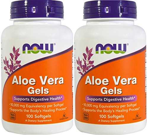 Now Foods Aloe Vera, 100 softgels 2 - Vera Gel Capsules Aloe