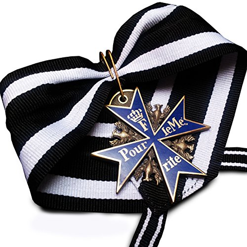 Price comparison product image Military Medal Pour Le Merite Blue Max Highest Honor WW1 German Army Replica
