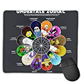 Nyanhif Fashion Undertale Zodiac The Mouse Pad for Men White