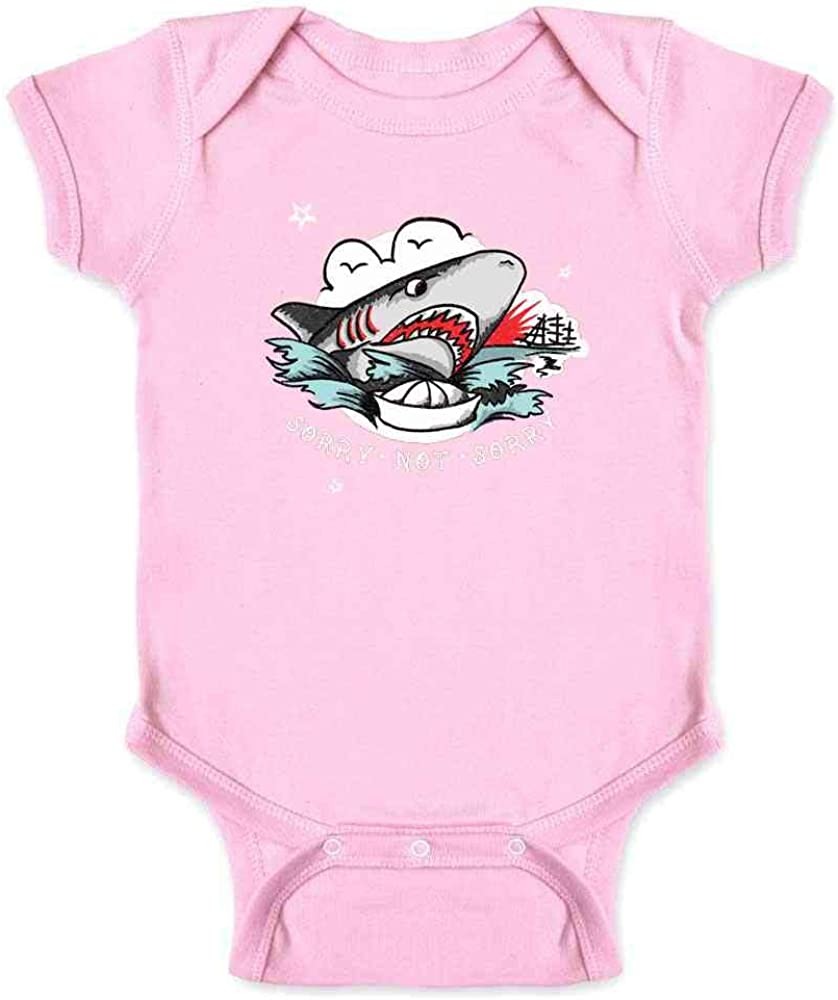 Sorry Not Sorry Retro Tattoo Infant Bodysuit
