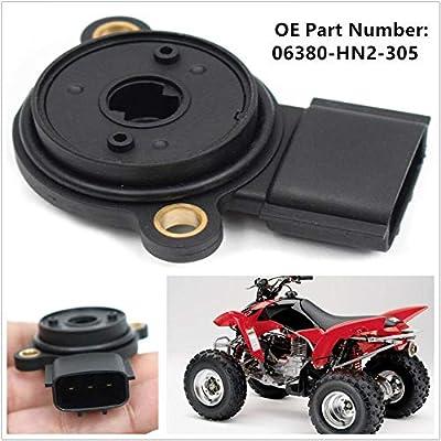JESBEN 06380HN2305 Shift Angle Sensor Replacement for Foreman Rubicon 500 TRX500FA 2001-2014 Rancher 400 TRX400FA 2004-2007 06380-HN2-305: Automotive