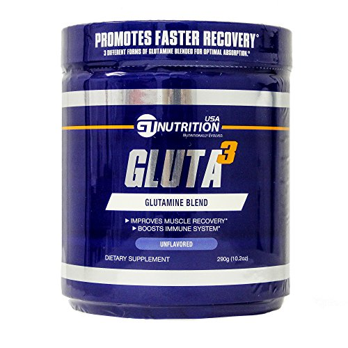 GT Nutrition USA Gluta3 Supplement, 10.2 Ounce