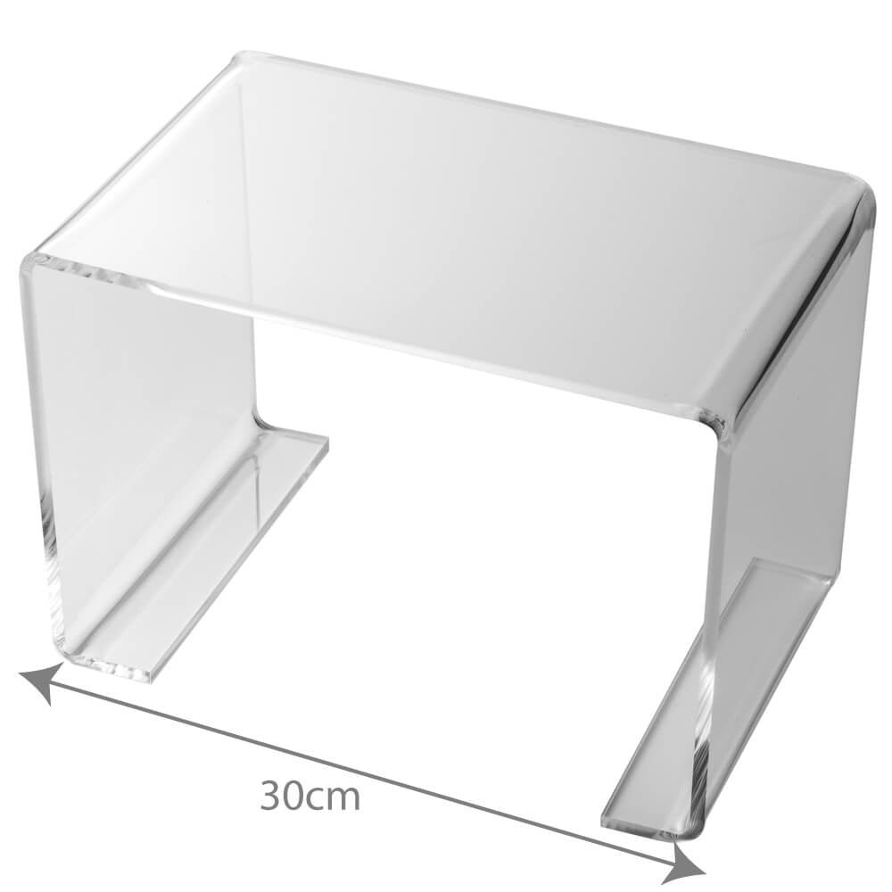 Fine 3D Displays Clear Acrylic Bridge Riser Lift Display Stand Caraccident5 Cool Chair Designs And Ideas Caraccident5Info