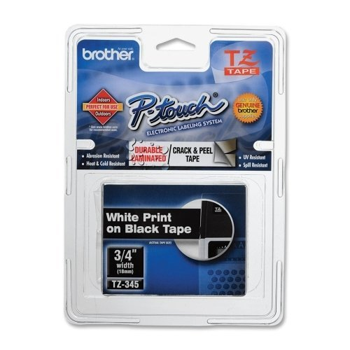 BRTTZ345 - Brother TZe Standard Adhesive Laminated Labeling Tape