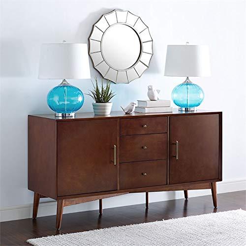 Crosley Furniture Landon Sideboard in Mahogany