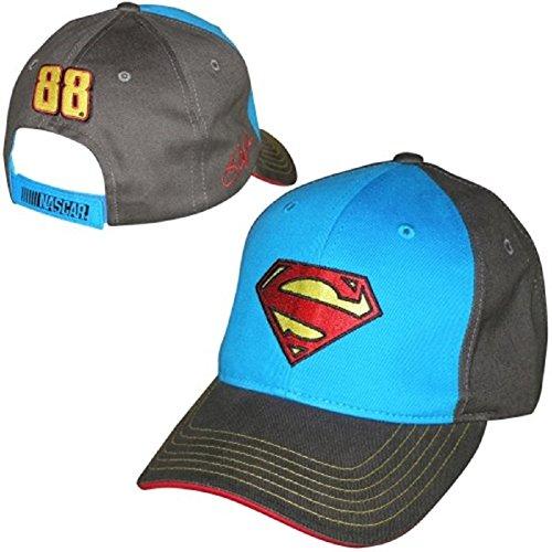 Dale Earnhardt Jr 2014 NASCAR #88 Superman Adjustable Hat-Royal Blue/Charcoal Gray