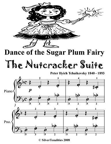 Dance of the Sugar Plum Fairy the Nutcracker Suite Easy Piano Sheet Music Tadpole Edition