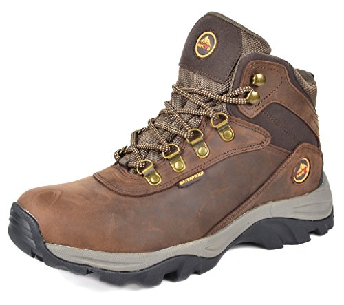 Bronx Mens Boots - DREAM PAIRS Men's Nortiv8 Bronx Brown Waterproof Work Boots Size 9 M US