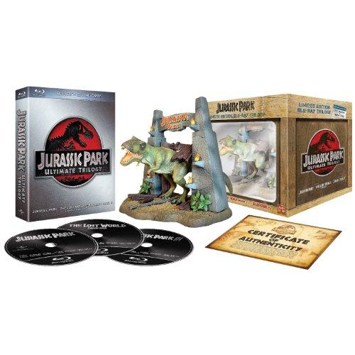 Jurassic Park - Ultimate Trilogie - Edition Collector [Blu-ray] (Terminator 2 Judgment Day Endoarm Collectors Edition)