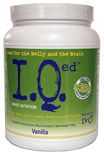 IQed Smart Nutrition All in One Nutritional Shake (Vanilla)