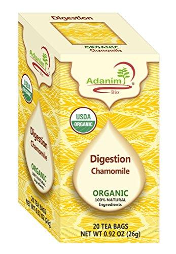 Sale Price 50% Off Flavored Chamomile Tea, 20 count (4 packs,80 individually enveloped tea bags) Adanim