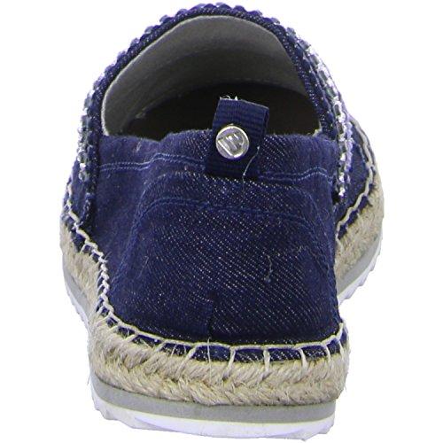 BULLBOXER  011018F4T, Mocassins pour femme taille unique taille unique -  Bleu - 40
