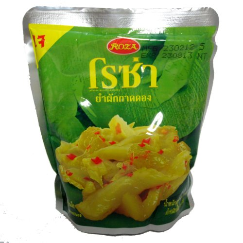 Roza Yum Pickled Mustard Green Thai Style l (Chinese Pickled Pepper)
