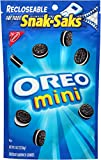 Oreo, Mini Chocolate Sandwiches Snak Saks, 8 oz