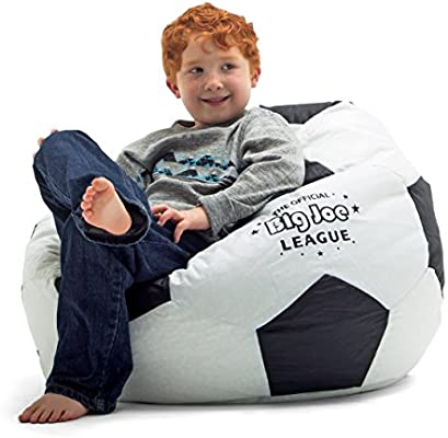Sensational Big Joe Soccer Bean Bag With Smart Max Fabric Cjindustries Chair Design For Home Cjindustriesco