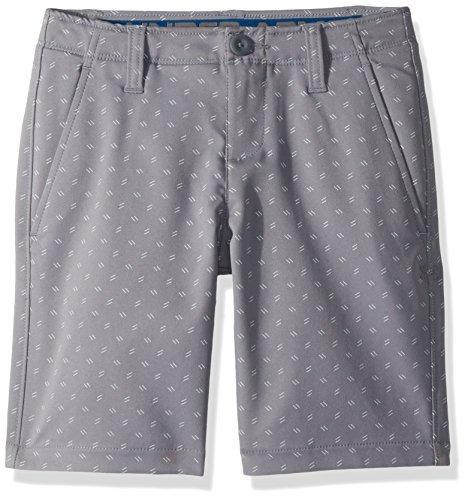 Under Armour Boys' Match Play Printed Shorts, Zinc Gray (513)/Zinc Gray,18 ()