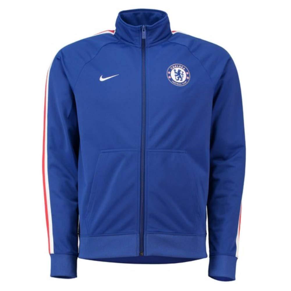 Nike 2018-2019 Chelsea Core Trainer Jacket (Blau)