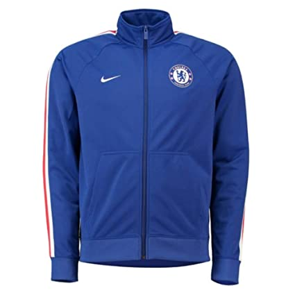 8bac297c1 Amazon.com : NIKE Chelsea FC Men's Full-Zip Track Jacket : Sports ...