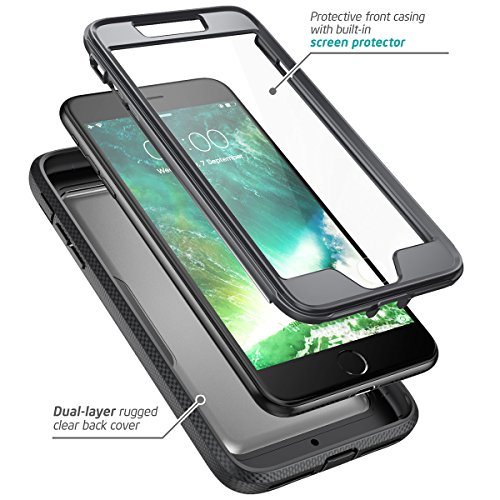 iphone 8 plus case with screen protector