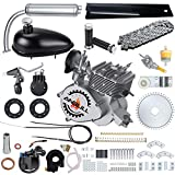Anbull Full Set 100CC Bicycle Engine Kit, 2 Stroke Motorized Bike Kit, Super Fuel-efficient Bike Engine kit with 2L Oil Tank for 26