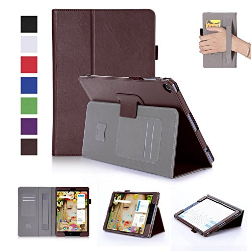 ISIN Tablet Case Series Premium PU Leather Case All-Powerful Protective Stand Cover for ASUS Zenpad 3S 10 Z500M Z500KL 9.7 inch Tablet with Velcro Hand Strap and Card Slots (10 Ips Print)