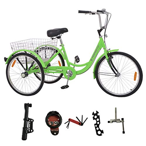 MOPHOTO Adult Tricycle Trike Cruiser Bike 3