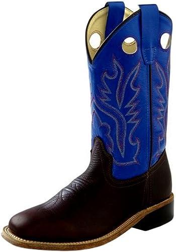 Old West Jama Corporation Boys Thunder Rust Cowboy Boots