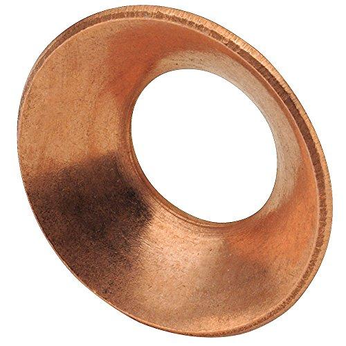 Flare Gasket, 45 deg., Copper, Flare, PK10