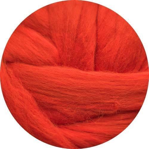 (Merino Wool Roving for Felting - 1 Ounce Tomato)