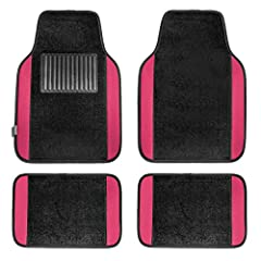 Protect your vehicle's floor with our premium carpet floor mats. The specially designed heel pad and top quality materials ensure your mats will last for many years to come. Vacuum or use soap and water. Air dry.