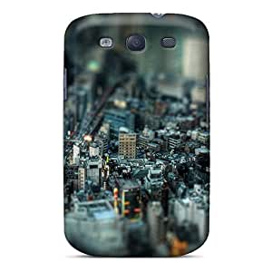 Tough Galaxy GzE1750Rupx Cases Covers/ Cases For Galaxy S3(miniature City)